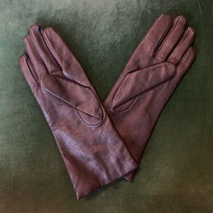 Fownes Brothers cashmere lined leather gloves
